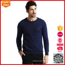 Nuevos suéteres pesados del suéter del knit de los hombres apretados del diseño fresco barato de la manera