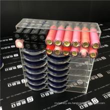 Organizador de maquillaje acrílico para paletas, pintalabios, pinceles o esmalte de uñas