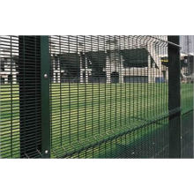 Best quality mesh 76.2mm*12.7mm hot dip galvanized high security 358 mesh fence / prison security fence