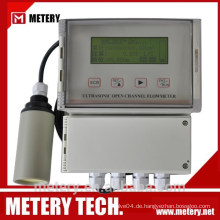 METERY TECH. Ultraschall-Open-Channel-Durchflussmesser