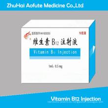 Inyección de vitamina B12 aprobada por GMP