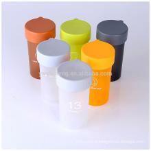 BPA libèrent l'impression de logo faite sur commande de logo de bouteille de l'eau en plastique ennuyante pas cher