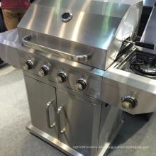 Hochwertiger Full Edelstahl 4 Brenner Gas Grill BBQ
