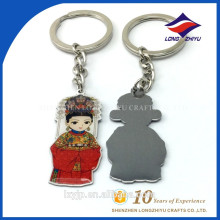 Personalized Funny Boy Girl Couple Keychain