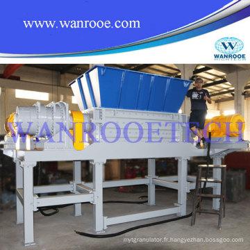 Déchiqueteuse de recyclage de pneus en bois / papier / métal / tdf