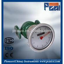 Medidor de flujo de engranajes oval LC