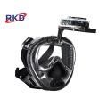 New underwater scuba diving set black mask RKD