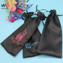 Bolso de lazo de satén de seda de características chinas