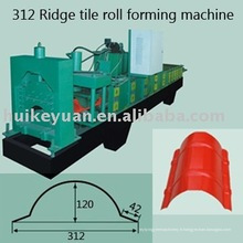 Tamping Plant Crest Machine à former des rouleaux de tuiles