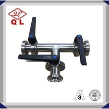 Sanitary Stainless Steel Handle Butterfly Valve