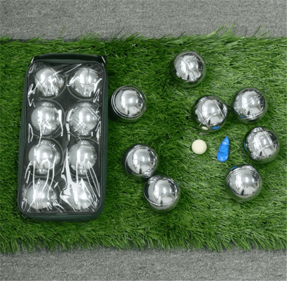 bocce ball with nylon bag