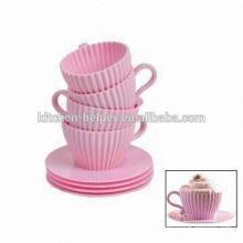 Силиконовые Мини Cupcake Mold / Силиконовые формы торта чашки / Силиконовые формы для торта / Формы для выпечки торта