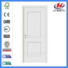 Porte en bois intérieure blanc premier MDF moulé de HDF