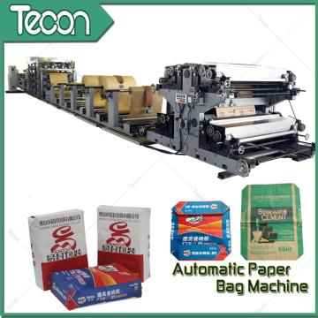 Valves automatiques Sacs à papier Fabrication de prix machine