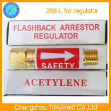 Yamato ventil acetylene Flashback aresstor sicherheit vavle 288L für regler