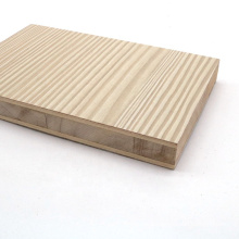 radiant pine core 15mm 17mm 18mm 19mm melamine laminated block board for Kitchen cabinet
