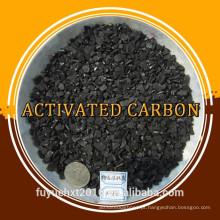 Carvão activado em casco de coco para parafina líquida líquida branca pura