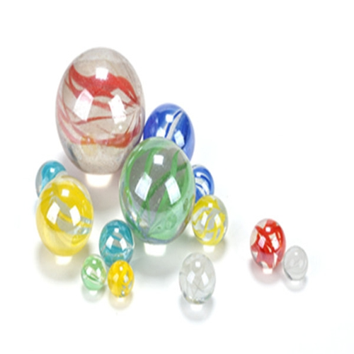 Partihandel Hot Sale Glass Marble Kids Playing