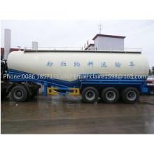 Bulk Trailer Anti-Corrosion, Heavy Duty Trailer, 30- 60cbm Dry Cement Semi Trailer