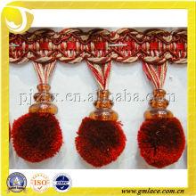 Kleine flauschige Pom Pom Fransen für Vorhang dekorative, Pompom trimmt