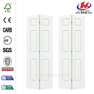 80.50in 3-Lite Tempered Frosted Glass Composite Bi-fold Door