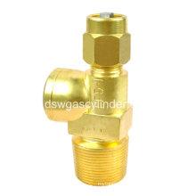 Клапан цилиндра сжатого газа
