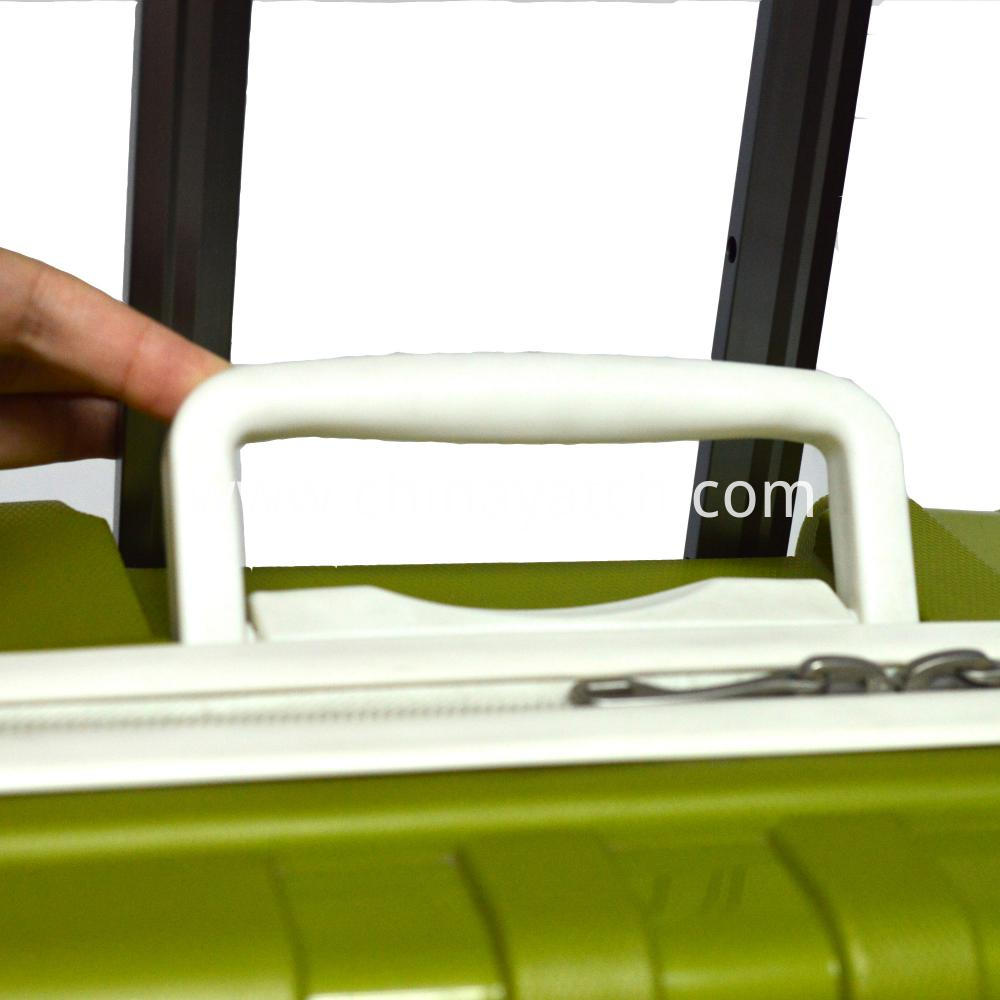 New Design PP Luggage with Special Handle