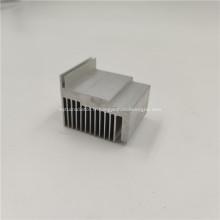 Profil d'extrusion d'échange de chaleur de radiateur en aluminium