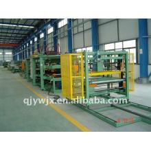 Rodillo de panel compuesto de EPS que forma la máquina de líneas China