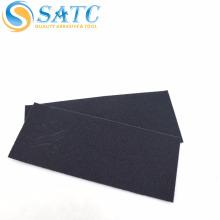 papier abrasif imperméable noir / feuille de papier abrasif