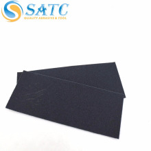 black waterproof sanding paper/sanding paper sheet