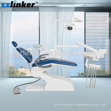 LK-A13 CE Aprovado Económico Low Mounted LED Lamp Complete Dental Unit