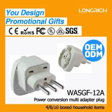 Hight productos de calidad de montaje del panel de toma de corriente, ce rohs aprobado socket multi-funcional
