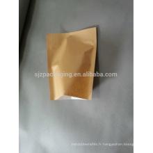 Sac en papier Brown Kraft pour poudre de cacao en Chine