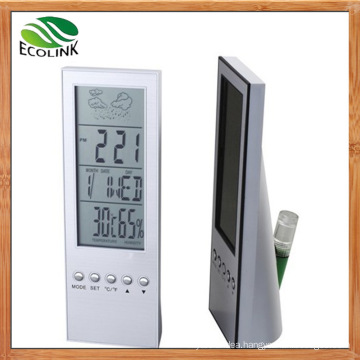 Eco-Friendly Water Powered LCD Digital Clock for Desktop Decoration