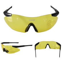 Ultralight Cycling Glasses Outdoor Sports Glasses Dustproof Windproof Glasses Yellow Lens