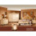 Juego de cama antigua para muebles de dormitorio clásicos (W805B)