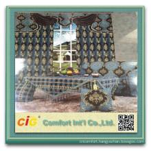Polyester Sofa Chenille Fabric chenille jacquard curtain fabric