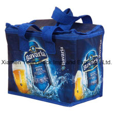 Promotional PP Non-Woven Custom Printed Insulated Cool Bag
