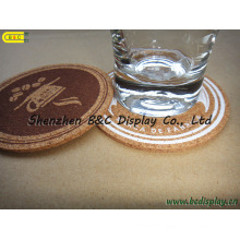 Cork Cup Pad, Cork Placemat, Cork Coaster Set, Cork Coasters (B&C-G073)