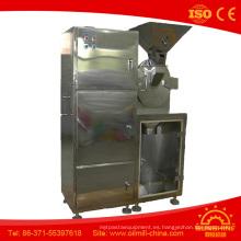 Máquina de molienda de granos Molinillo de café de acero inoxidable Moringa Leaf Grinder