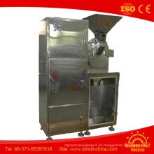Máquina de moagem de grãos Moedor de café de aço inoxidável Moedor de folha de Moringa