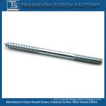 C1022 Steel Double Threaded Wood Screws