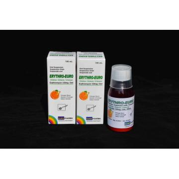 Erythromycin Oral Suspension 125MG/5ML