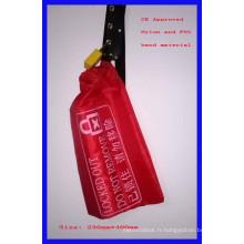 Couvercle de verrouillage de commande, sac en nylon, rouge avec CE marqué E91
