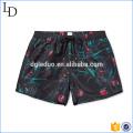 Customized print design mens swim shorts