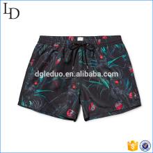 Pantalones cortos de natación para hombre de diseño estampado personalizado