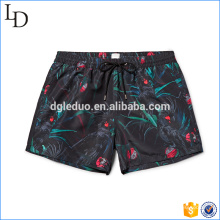 Customized print design mens swim shorts