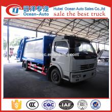 Dongfeng 8cbm небольшой мусоровоз для продажи