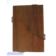 Wooden Coating Surface Solid Aluminiumblech